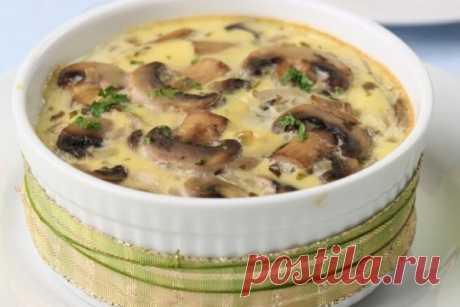 Жюльен с шампиньонами в духовке — Sloosh – кулинарные рецепты