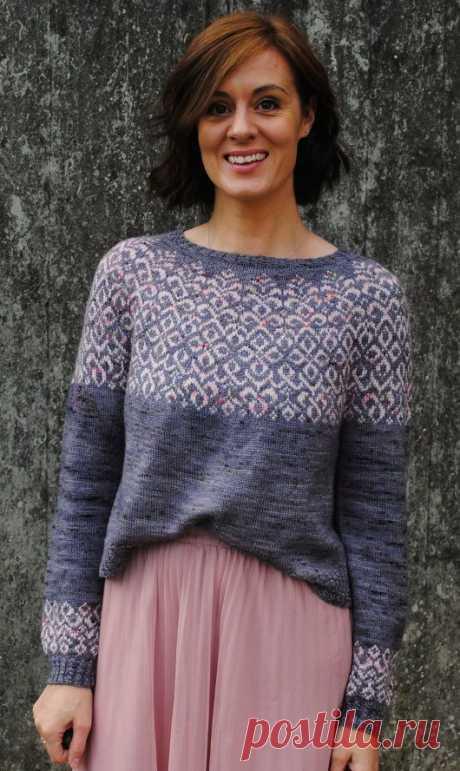 Вязаный пуловер Bridgerton