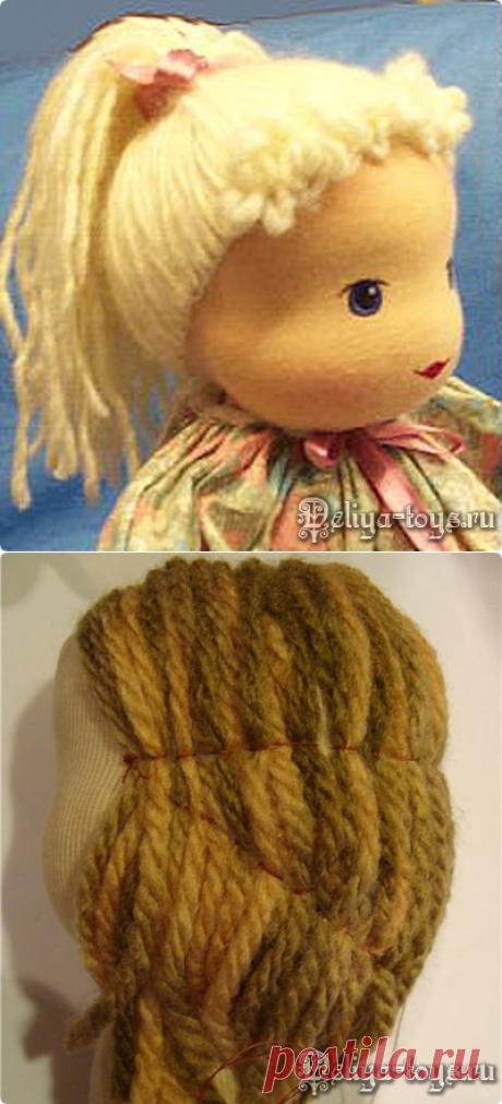 Это интересно » Как сшить вальдорфскую куклу. Волосы