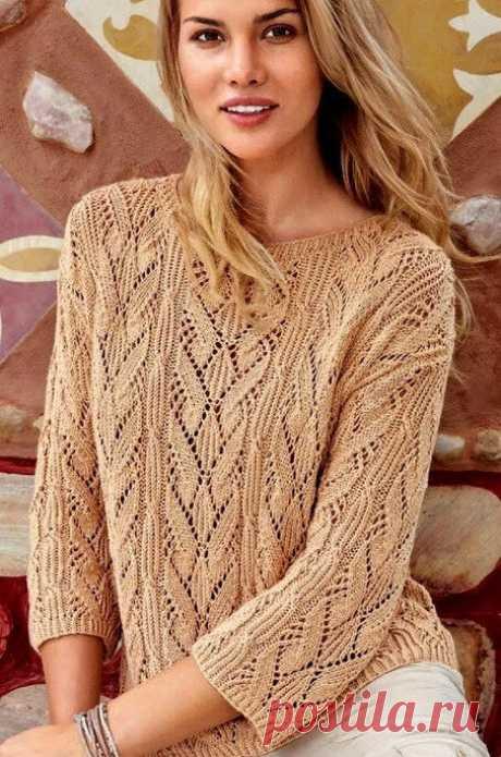 Не устареет то, что подчеркивает вашу женственность! Разные модели пуловеров, кофточек. Идеи, узоры в вязании спицами. | Ирина СНежная & Вязание | Яндекс Дзен