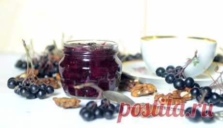 Зимой скажете спасибо за этот рецепт. Варенье-десерт из черноплодной рябины — когда некуда деть урожай | Дауншифтеры | Яндекс Дзен