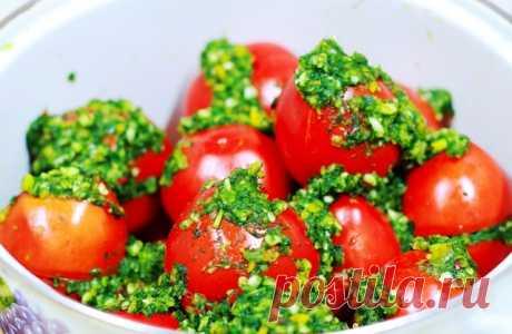 Вкуснейшие малосольные помидоры по-армянски