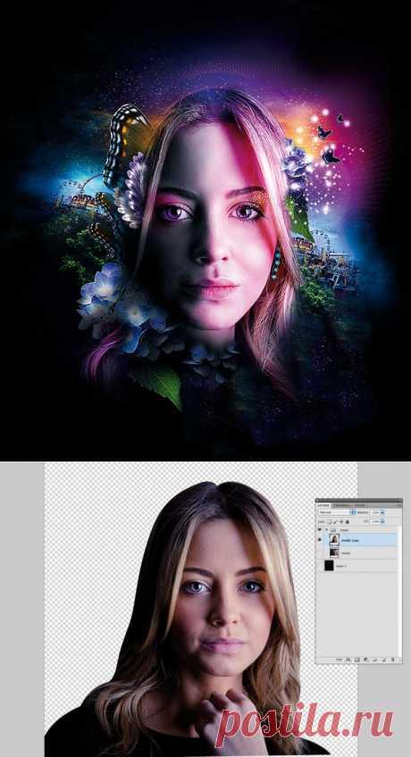Как сделать свет в Фотошопе, световые эффекты в Фотошопе | Мир графики и дизайна