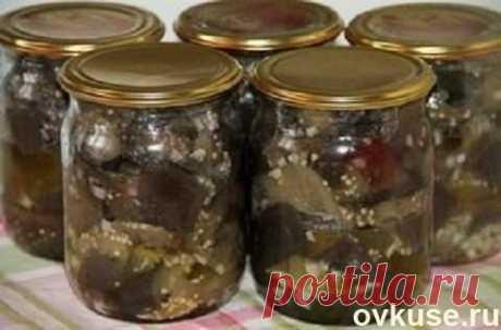 Баклажаны с чесноком - Простые рецепты Овкусе.ру
