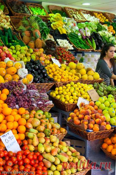 Рынок города Санта-Крус-де-Тенерифе - овощи, фрукты, специи. | Путевые заметки Алексея Онегина