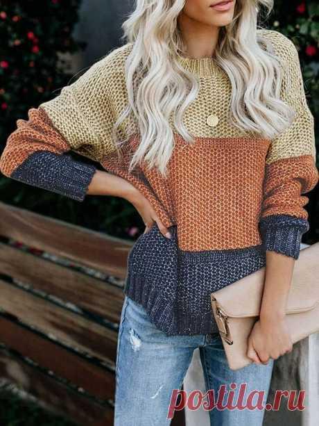 Идеи для вдохновения! Полосатые свитера! | knitting_in_trendd | Яндекс Дзен