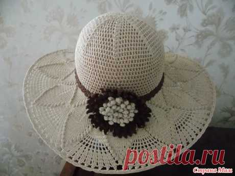 Летняя шляпка - Вязание - Страна Мам