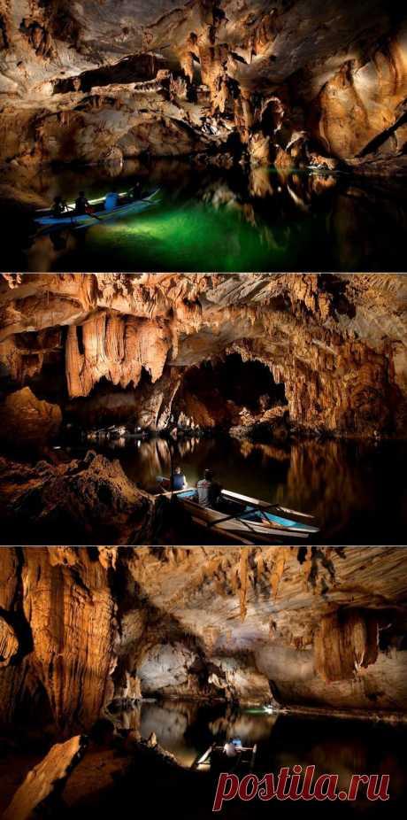 (+1) - Подземная река Пуэрто-Принсеса | УДИВИТЕЛЬНОЕ