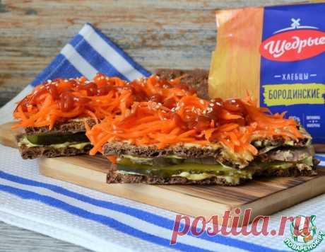 Фастфуд на хлебцах – кулинарный рецепт