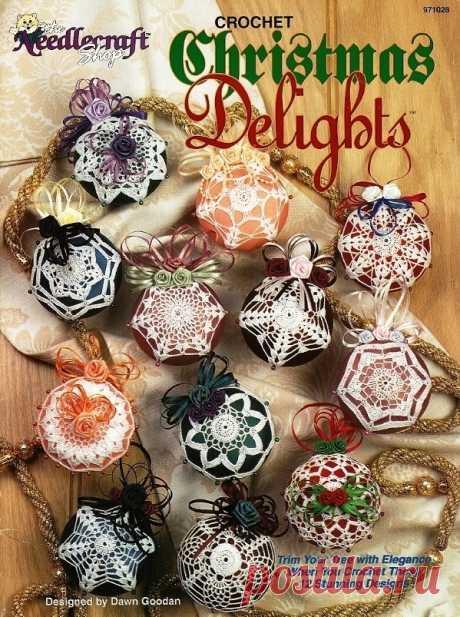 ... Рождественских Чудес 12 Узоры Покрывают Орнаментом - Вязание Крючком И Вязание
