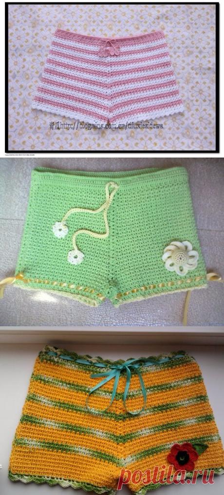 Gallery of the embodiments of shorts - Needlework - Babyblog.ru