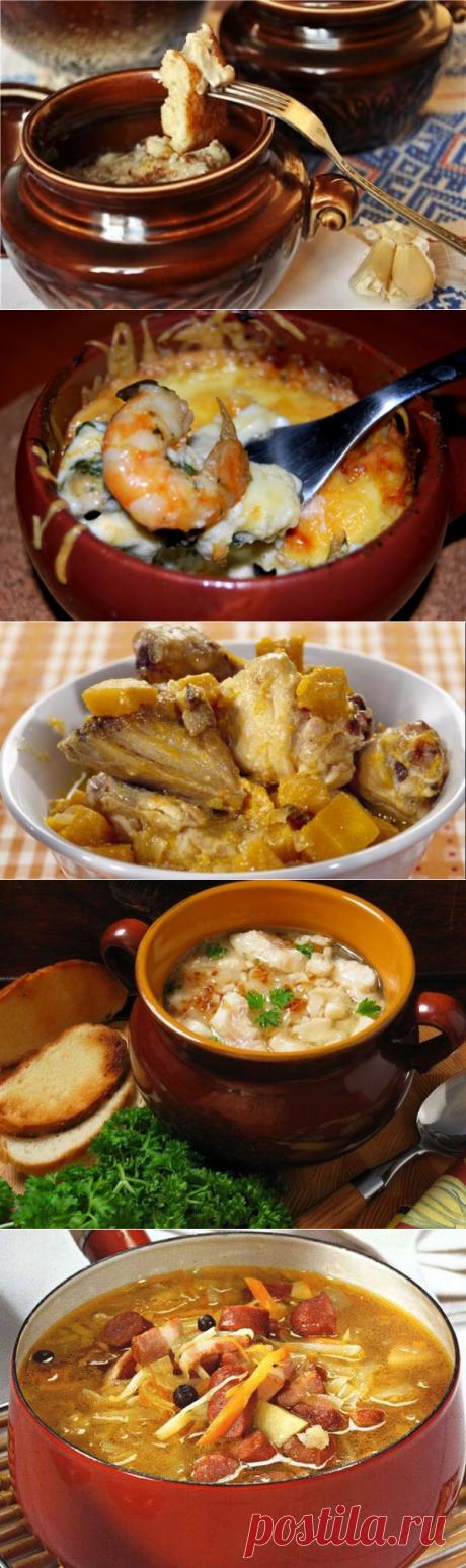 7 оригинальных рецептов блюд в горшочке | Четыре вкуса