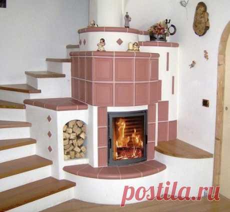 Печка-лестница