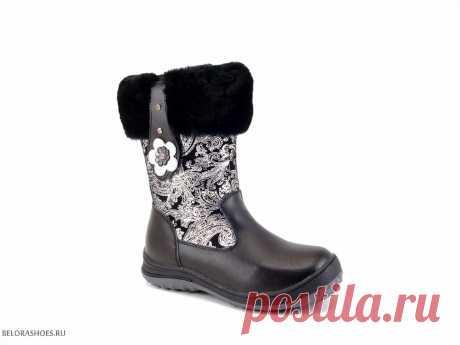 Сапожки дошкольные Милтон 26224 - детская обувь, обувь для девочек, сапоги. Купить обувь Milton