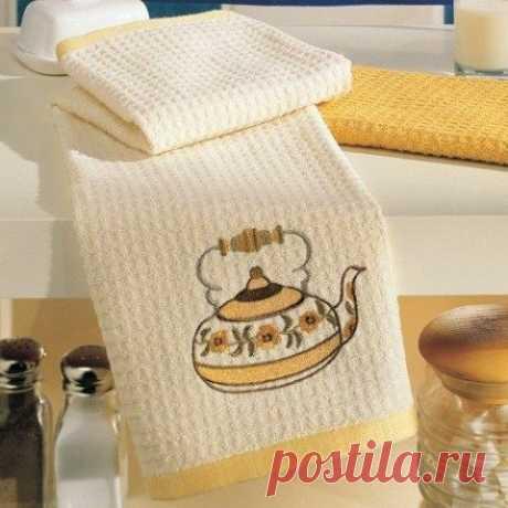 Как отстирать кухонные полотенца / Как сэкономить