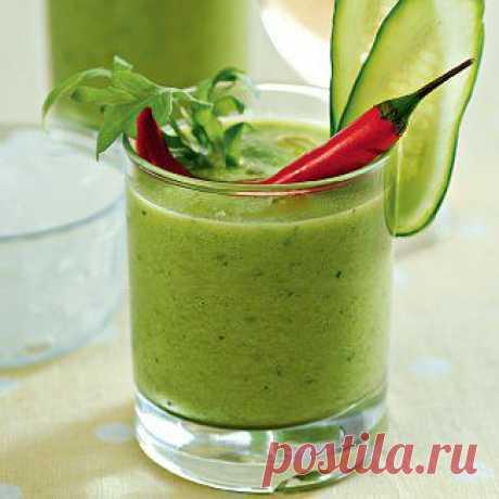 Verde gaspacho, la sopa. La receta poshagovyy de la foto en Gastronom.ru
