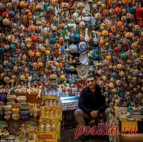 Пёстрый мир Гранд Базара в Стамбуле