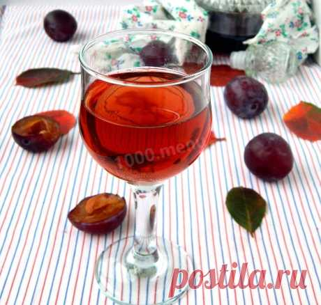 Наливка сливовая домашняя рецепт с фото пошагово - 1000.menu