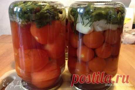 Помидоры в маринаде «Хони-Блюз». Ингредиенты: помидоры, помидоры черри, укроп свежий | Едим Дома кулинарные рецепты от Юлии Высоцкой