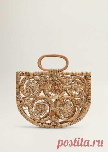 Пляжные сумки из рафии. Модели и схемы вязания. | Ольга Таволга | Яндекс Дзен
