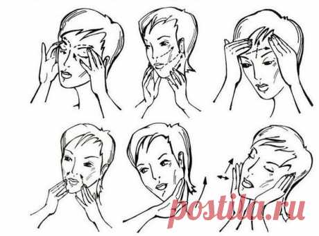 How to do a facial massage and necks in house conditions