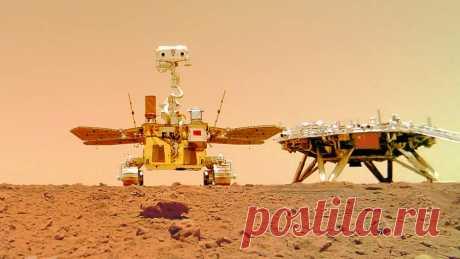Китай опубликовал видео работы миссии «Тяньвэнь-1» на Марсе Национальное космическое управление Китая опубликовало сделанные в ходе миссии «Тяньвэнь-1» на Марсе видео. Ролики появились 27 июня в Twitter организации.