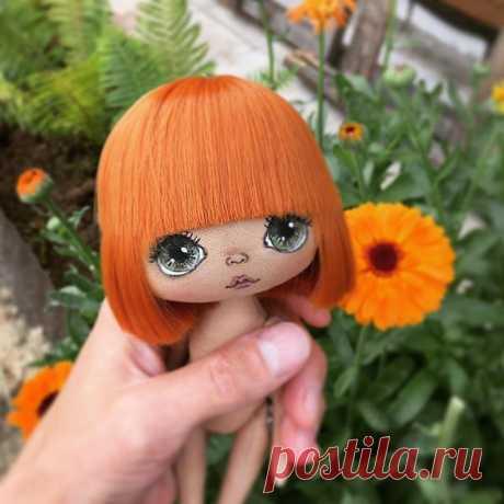 Вот она, моя новенькая☺️#куклаолли #куколка#творчество#моялюбовь❤️