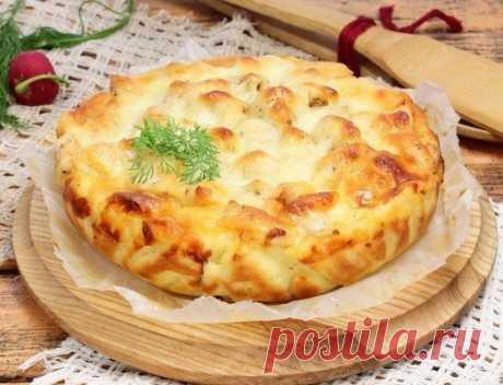 Пирог с курицей и сыром: правильная выпечка!  / Абсолютное здоровье