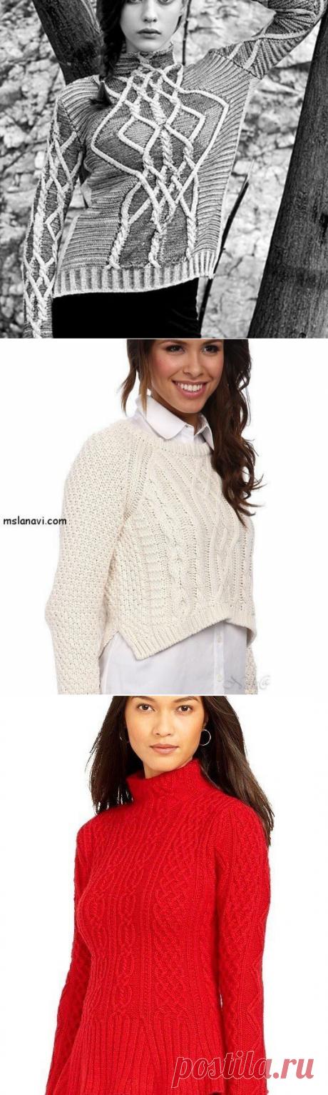 Вязание жакетов и пуловеров спицами - уроки и мастер-классы
