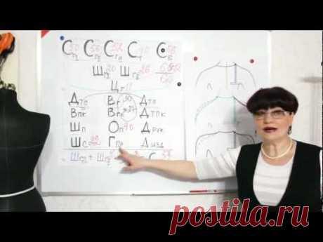 Шитье со Светланой Поярковой: Снятие мерок. Фигуры. Баланс. Часть 5