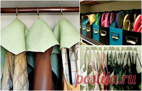 17 cunnings which will help to bring order to the house and to increase opportunities wardrobe