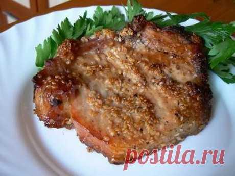 Молодой баранчик зажареный с кунжутом рецепт с фото - 1000.menu