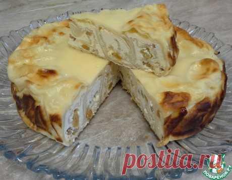 Ароматный пирог из лаваша с творогом – кулинарный рецепт