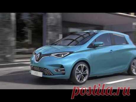 Renault ZOE 2020 - новый электрокар - цена, фото, технические характеристики, авто новинки 2018-2019 года