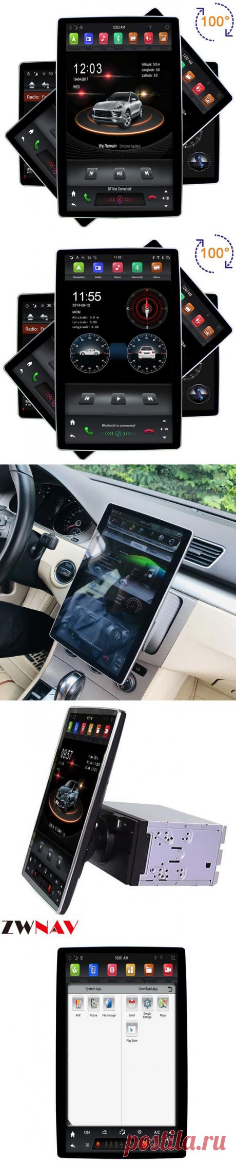 Топ-5 автомагнитол с большим HD 12,8 монитором в стиле Тесла с Алиэкспресс – Super-Blog