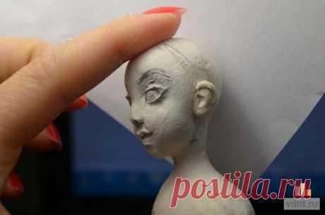 Кукла ручной работы - делаем голову (мастер-класс) | ВДНТ