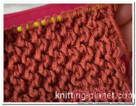 Революция в вязании: вертикальная платочная вязка