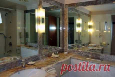 Полезные рекомендации по выбору зеркала для ванной #зеркалодляванной #интерьерваннойкомнаты #дизайнинтерьера