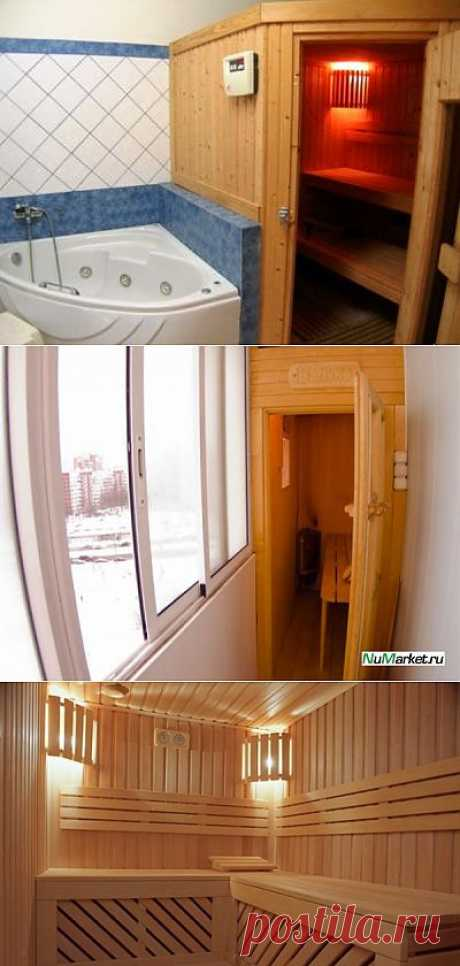 HOW to CONSTRUCT the SAUNA IN the APARTMENT. Very quickly it is also just possible to mount comfortable and beautiful pass a sauna in the apartment. The most important – to do all works accurately and to often take council from experts. What will be a sauna — everything depends only on the owner. It is possible to carry to construction also an infrared sauna the hands, and it is possible also convection – with the furnace.