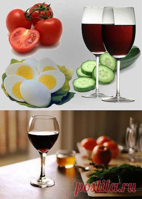 Винная диета Эффективное похудение