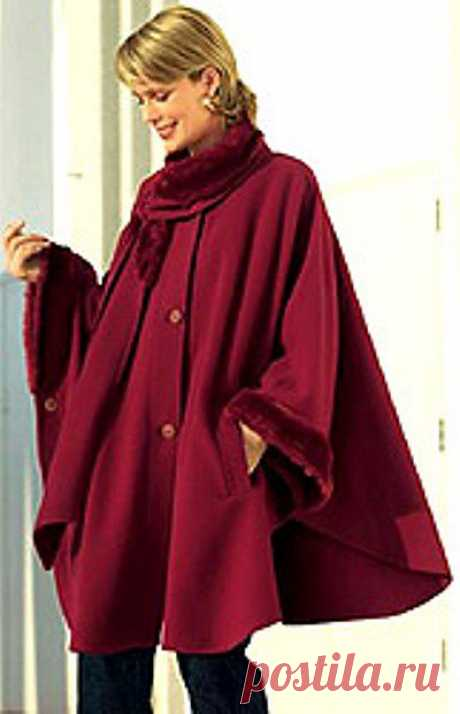 We SEW the PALTO-PONCHO AND DRUGIE. - pattern.