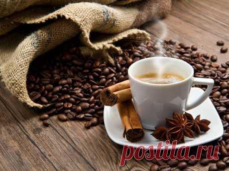 ТОП-10 рецептов приготовления кофе.