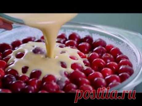 Клафути с вишней рецепт с фото пошагово - Типичный Кулинар