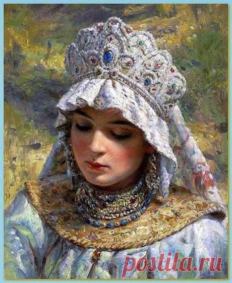 Царь Иван Грозный и его восемь жен:часть VI - Анна Васильчикова