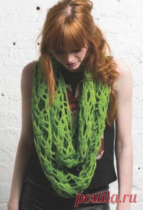 1462 - шарфи, шалі, палатини - В'язання для жінок - Каталог статей - Md.Crochet