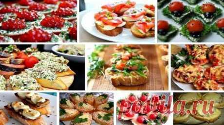 Бутерброды на праздничный стол - ochenvkusno.com