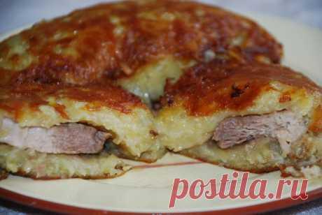 Мясо в картофельной корочке - Рецепты от друзей - фото