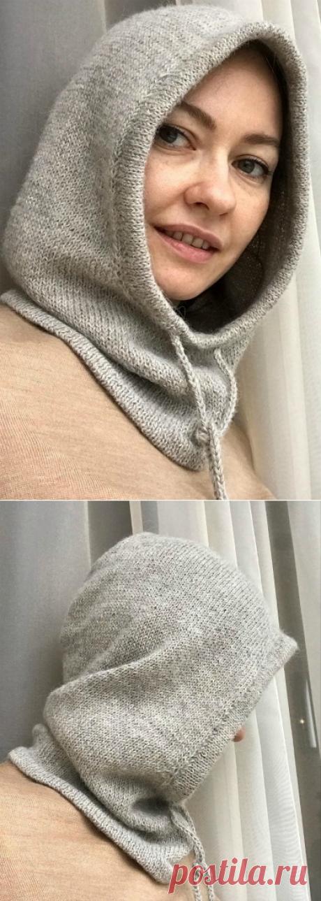 Эргономичный капор – Вязаный капюшон (Вязание спицами) – Журнал Вдохновение Рукодельницы