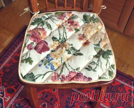 Шьем подушку-сидушку на стул за 2 часа - Ярмарка Мастеров - ручная работа, handmade