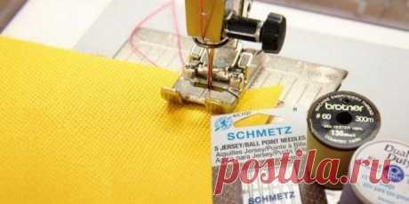 Шьём трикотаж на обычной швейной машине